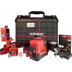 PRO LK-360.3D Laser płaszczyznowy 3 x 360 liniowy krzyżowy budowlany 3D