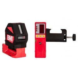 Laser liniowy krzyżowy BMI autoCROSS 3 z detektorem