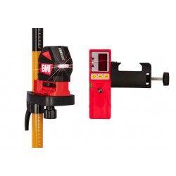 Laser liniowy krzyżowy BMI autoCROSS 3 z detektorem zestaw L62-maxi