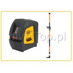 Zestaw laser krzyżowy CL1 z tyczką rozporową 3,2m LP-32