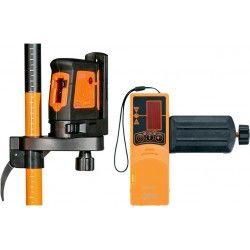 Laser liniowy krzyżowy Geo Fennel FL 40-II HP zestaw L08-maxi