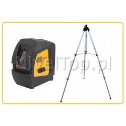 Zestaw laser krzyżowy  Nivel System CL1G ze statywem SJJ-M1 z wysięgnikiem