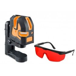 Laser liniowy krzyżowy Geo Fennel Geo3X HP z okularami zestaw L54-easy