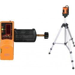 Laser liniowy krzyżowy Geo Fennel FL 40-3 HP ze statywem i detektorem zestaw L15-maxi