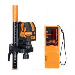 Laser liniowy krzyżowy Geo Fennel Geo3X z kolumną i detektorem HP zestaw L49-maxi