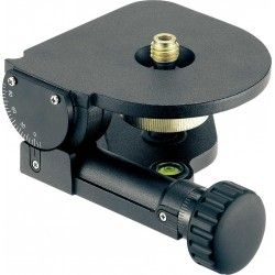 Głowica mocująca laserów NA 1 pochylana z podziałką
