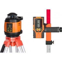 Niwelator laserowy Geo Fennel FL 180A ze statywem, łatą i czujnikiemzestaw R01-easy