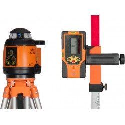 Niwelator laserowy Geo Fennel FL 180A ze statywem, łatą i czujnikiem zestaw R02-easy