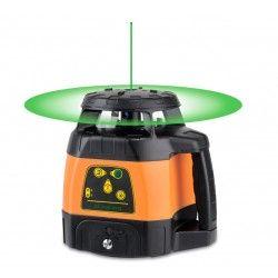 Niwelator laserowy Geo Fennel FLG 245HV-GREEN z czujnikiem, pilotem i uchwytem