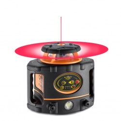 Niwelator laserowy Geo Fennel FL 265HV MM z czujnikiem, pilotem i akcesoriami