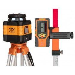 Niwelator laserowy Geo Fennel FL 150H-G - statyw,łata,czujnik,pilot i akcesoria zestaw R29-opti