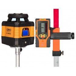 Niwelator laserowy Geo Fennel FL 150H-G - statyw,łata,czujnik,pilot i akcesoria zestaw R30-maxi