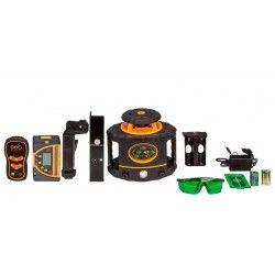 Niwelator laserowy Geo Fennel FLG 265HV-GREEN MM z czujnikiem,pilotem i akcesoriami