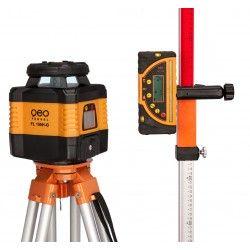 Niwelator laserowy Geo Fennel FL 150H-G MM - statyw,łata,czujnik, pilot i akcesoria zestaw R31-opti