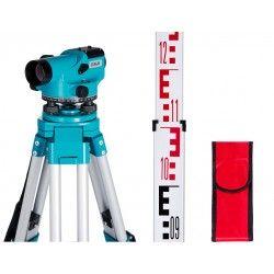 Niwelator optyczny Geo Fennel ELN 24 ze statywem i łatą zestaw N12-easy