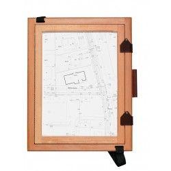 Szkicownik geodezyjny A4 drewniany