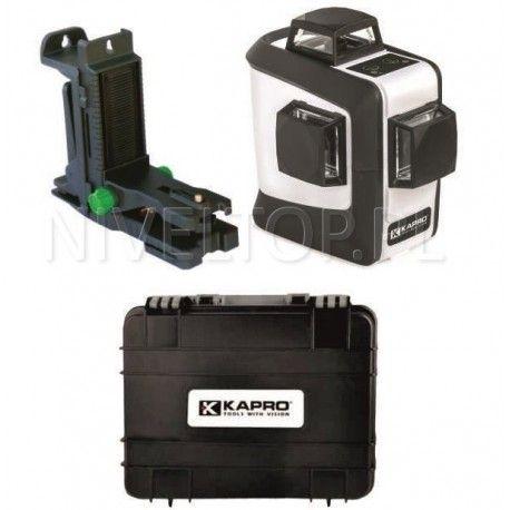 Laser płaszczyznowy 3D 3x360 Kapro KA883G zielony