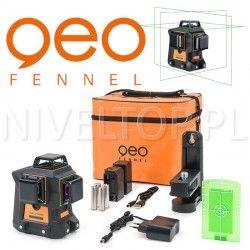 Geo Fennel  Geo6X GREEN SP Li-lon SOFT BAG laser krzyżowy płaszczyznowy 3D 360 ZASIĘG 80m