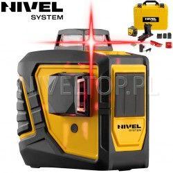 Laser krzyżowy Nivel System CL2D -360 stopni