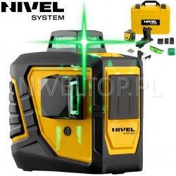 Laser krzyżowy Nivel System CL2D-G -360 stopni