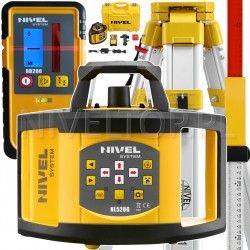 NIVEL System NL520 niwelator laserowy statyw i łata laserowa w zestawie