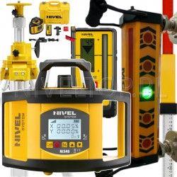 NIVEL SYSTEM NL540 DIGITAL niwelator laserowy z Detektorem do koparki I Zestaw Sterowania Maszyn