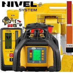 Niwelator laserowy Nivel System NL610 Digital ze statywem SJJ1 i łatą laserową LS-24