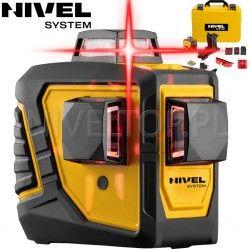 Laser krzyżowy Nivel System CL3D -360 stopni