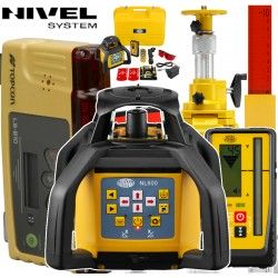 Zestaw sterowania maszyn Nivel System NL600 z Topcon LS-B10 - System 1D