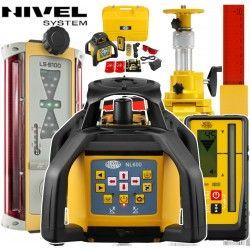 Zestaw sterowania maszyn Nivel System NL600 z Topcon LS-B110 - System 1D