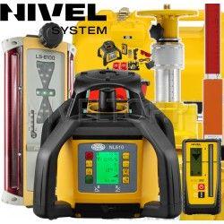Zestaw sterowania maszyn Nivel System NL610 z Topcon LS-B110 - System 1D
