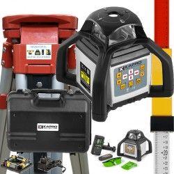 ZIELONY Niwelator laserowy KAPRO 8991G w zestawie statyw i łata laserowa