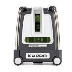 Laser krzyżowy ZIELONY KAPRO KA873G niwelator laserowy 3-liniowy