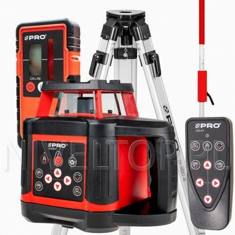Zestaw Niwelator laserowy PRO LR-500XY + Statyw TR-900.2 + Łata LLN240