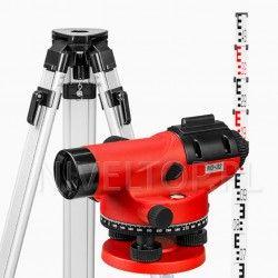 Zestaw niwelator optyczny PRO NO-32 + statyw + łata 5m