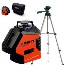 PRO LK-1V360H laser krzyżowy (czerwona wiązka) + Statyw TR-420F