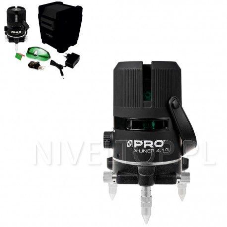PRO X-LINER 4.1G laser krzyżowy (ZIELONY)