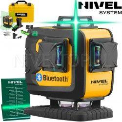 NIVEL SYSTEM CL4D-G BT laser krzyżowy płaszczyznowy liniowy