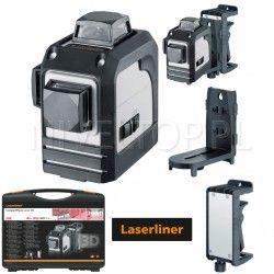 Laser krzyżowy Laserliner CompactPlane-Laser 3D płaszczyznowy 3x360°